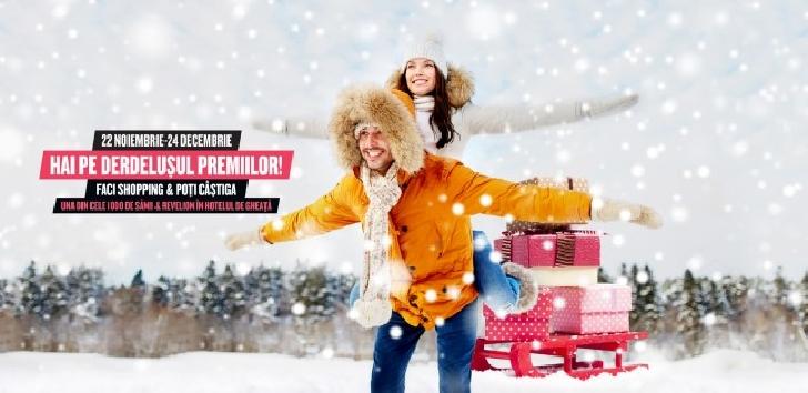 Luna decembrie vine cu surprize la Ploiesti Shopping City.Expozitie de costume populare, Castelul de Gheata, Revelion la Hotelul de Gheata, tombola cu premii