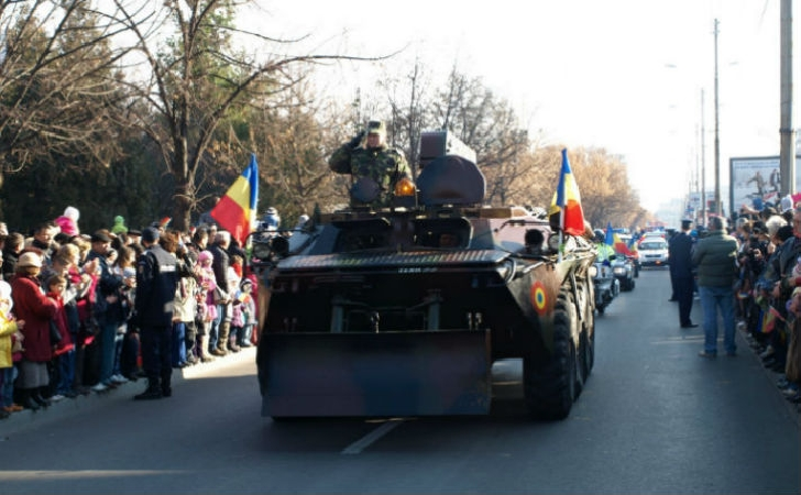 Programul paradei militare de 1 decembrie -  Ploiesti