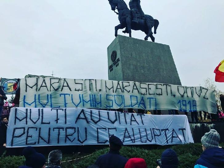Peluza Latina – mesaj pentru clasa politica