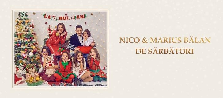 """Nico (Nicoleta Matei) – single nou."""" De sărbători """" Nico, Marius Bălan şi Clubul Artist Ploieşti"""