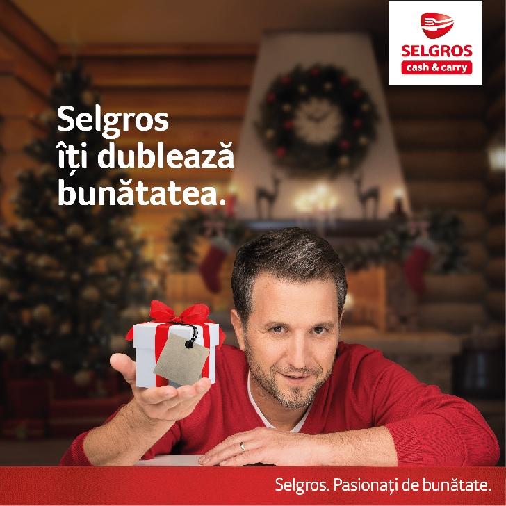 """Selgros şi clienţii săi donează cărţi, jucării şi resurse financiare prin campania """"Selgros îţi dublează bunătatea"""""""