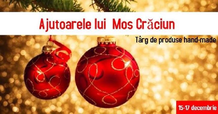 Ajutoarele lui Moş Crăciun va  aşteaptă la târgul de cadouri handmade de la Anticaffe New Experience Ploieşti