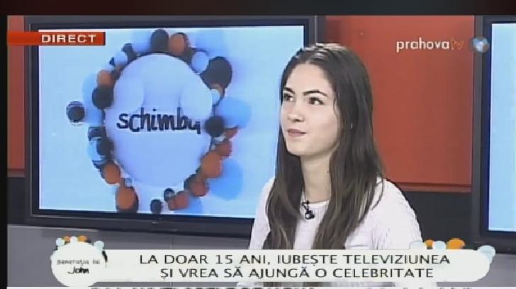 """Delia Popa a facut furori  la """"Generaţia lui John """""""