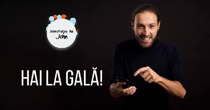 Gala Generaţia lui John 2017, va avea loc la Ploieşti Shopping City