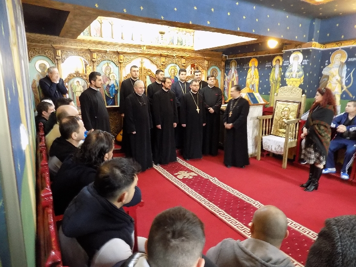 Penitenciarului Ploieşti a fost vizitat de membri ai Asociaţiei  Studenţilor Creştini Ortodocşi Români