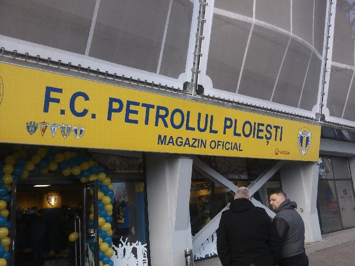 S-a redeschis magazinul echipei Petrolul Ploiesti