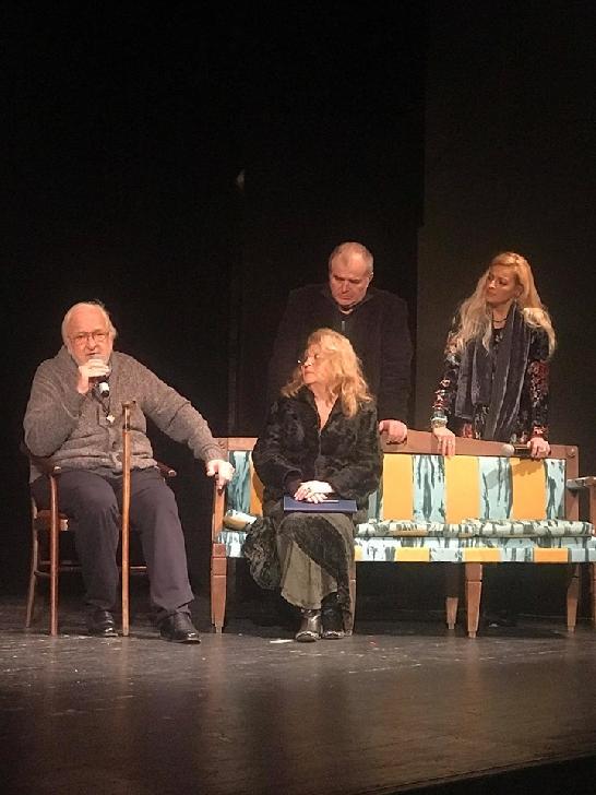 """Luni seara , cultura a fost sărbătorită (şi) pe scena Teatrului """"Toma Caragiu """"Ploieşti"""