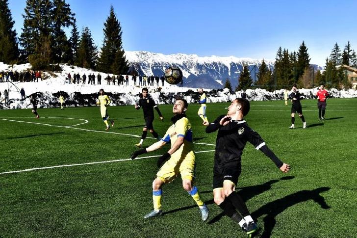 Victorie lejera cu AS SR Brasov .  FC Petrolul Ploieşti – AS SR Braşov 5-0 (1-0)