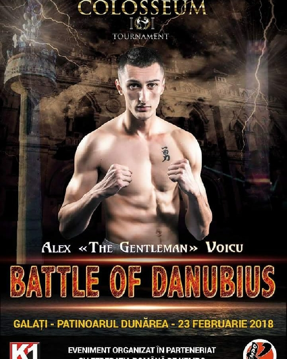 Alex Voicu şi Amnasio Paraschiv se pregătesc pentru Gala Colosseum Tournament – Battle of Danubius