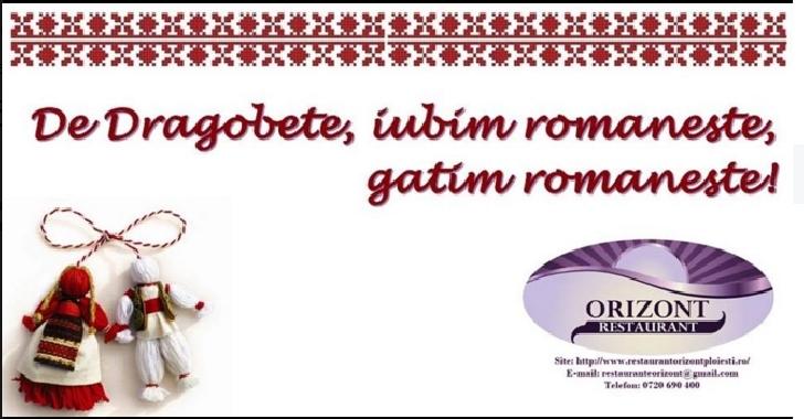 De Dragobete, la Restaurant Orizont se găteşte româneşte