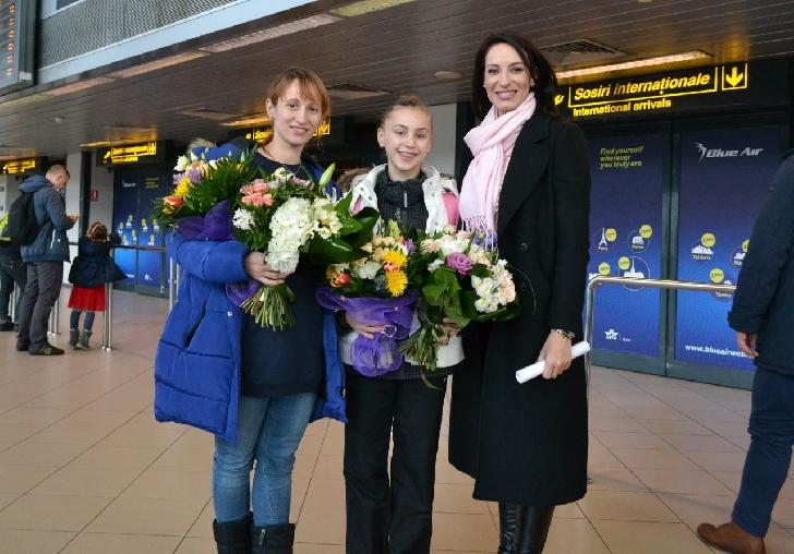 Gimnasta Denisa Stoian ,rezultate remarcabile la Moscova