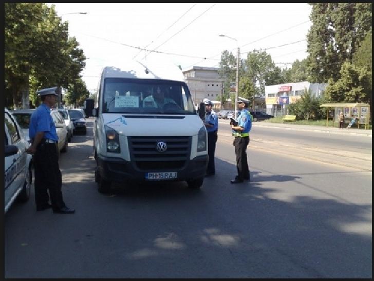 Transportatorii în atenţia poliţiştilor locali