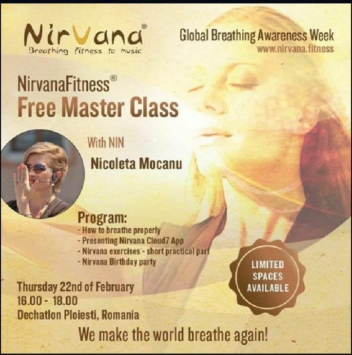 Nirvana Fitness la Dechatlon Ploiesti