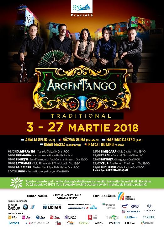 Analia Selis şi ArgEnTango aduc tangoul tradiţional argentinian la Ploiesti