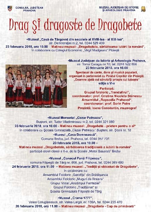 Dragobetele la Muzeul Judeţean de Istorie şi Arheologie Prahova