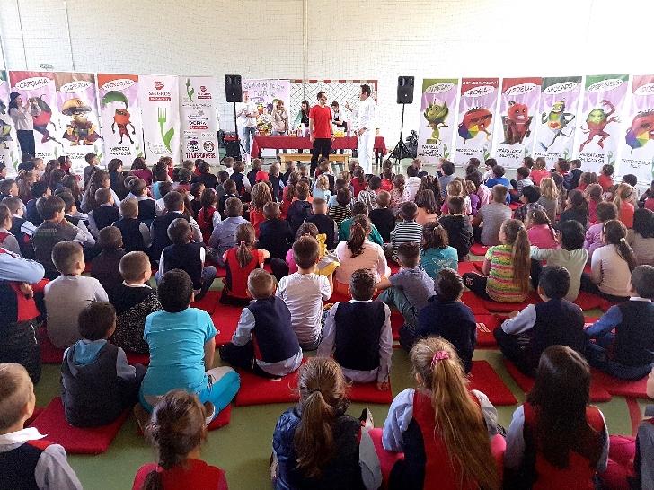 Programul Selgros Sănătatea începe din farfurie ajunge în Ploieşti şi vizează 480 de elevi