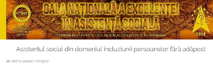 Voteaza Lucian Biru la categoria Asistentul Social din domeniul incluziunii persoanelor fara adapost