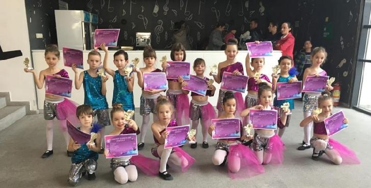 Premii pentru Studio Elite Dance la concursul Diamond Dance Cup