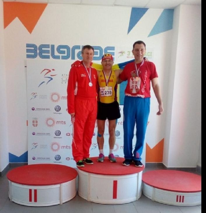 Atletul Marian Ion, locul 1 la Campionatelor Balcanice de Atletism (sala) de la Belgrad