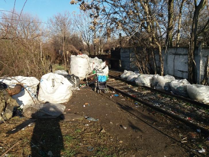 Deşeuri reciclabile depistate pe domeniul public