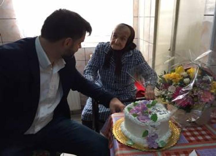 Ploiesteanca Maria Şercău a fost sarbatorita de Primaria Ploiesti