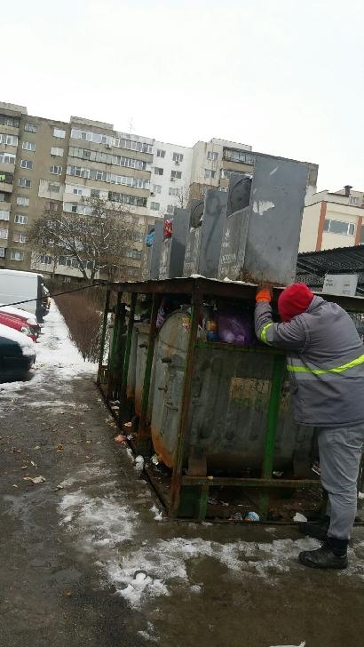 Amenzi pentru nemenţinerea curăţeniei în zona platformelor gospodăreşti