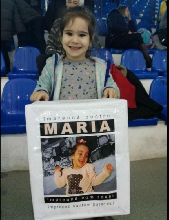 Împreună pentru Maria. Oprea Maria Andreea, diagnosticată cu tetrapareza spastică