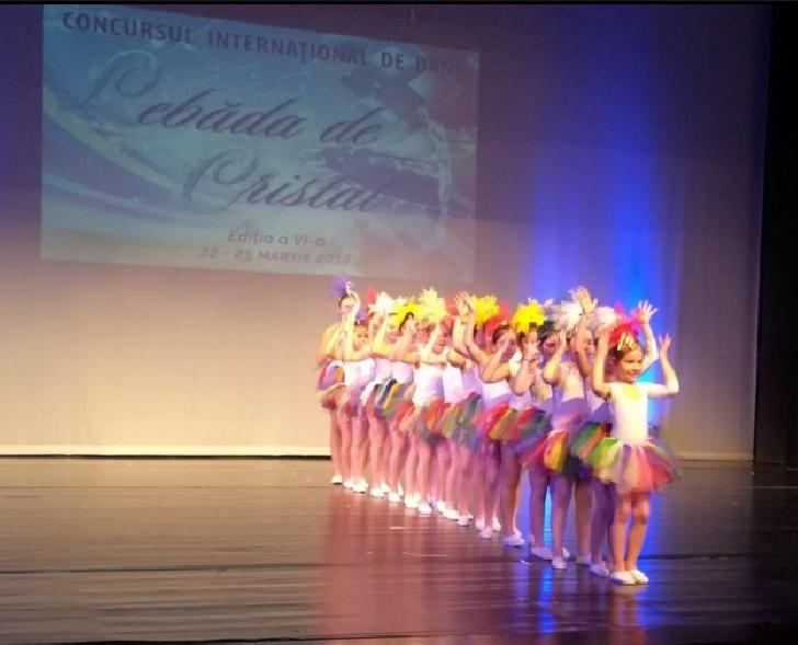 """Trupa DiaFun , locul 1 la Concursul Internaţional de dans """"Lebăda de Cristal"""""""