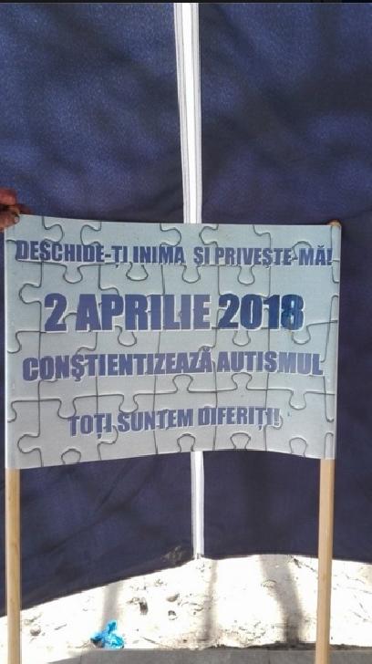 A 5 a ediţie dedicata Zilei Internaţionale a Conştientizării Autismului, a fost sărbătorita şi la Ploieşti