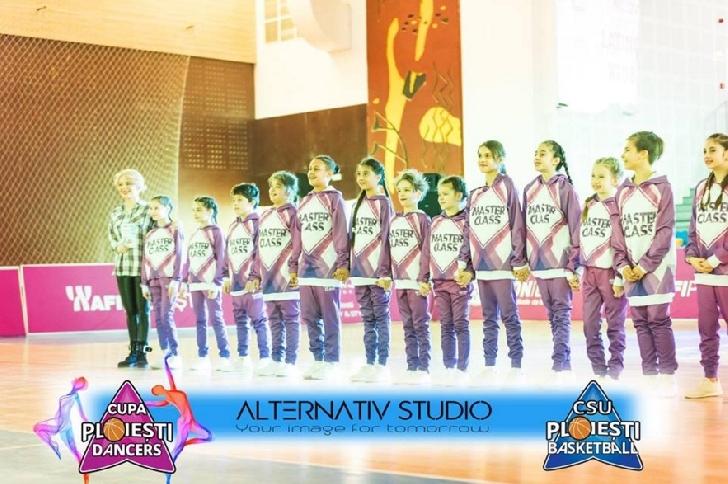 Scoala de dans Studio Elite Ploiesti,locul 1 la la concursul de dans Champions Dance Festival