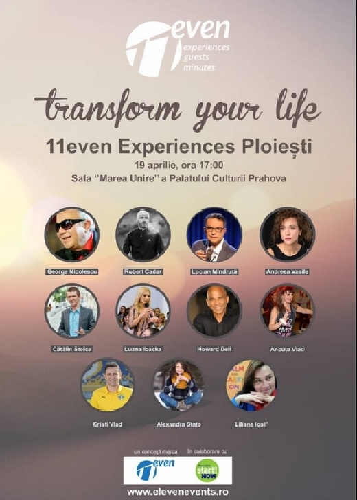 11even Experiences Ploieşti - 19 Aprilie 2018
