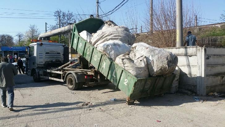 Politia Locala Ploiesti a confiscat deşeuri reciclabile