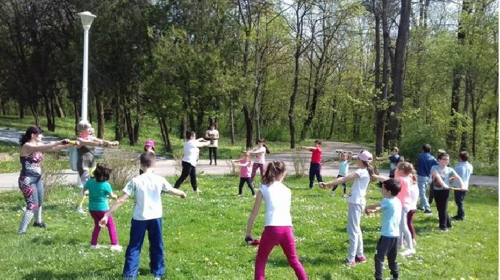 """Ziua sanatatii a fost sarbatorita in Parcul """" Constantin Stere """" Bucov"""