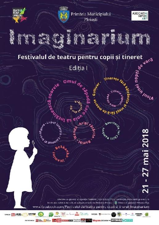 Incepe Festivalul de teatru pentru copii si tineret Imaginarium ( editia 1 ) – Programul complet
