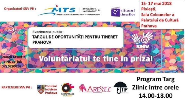 La Palatul Culturii Ploiesti va avea loc Targul de oportunitati pentru Tineret Prahova