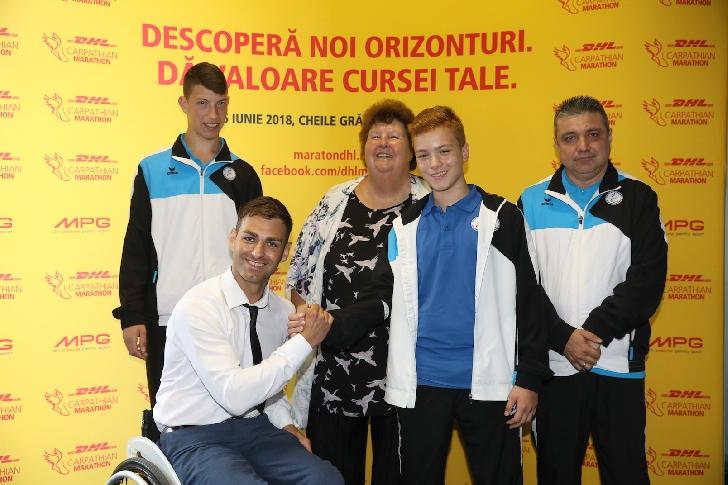 Comunicat de presa. DHL Carpathian Marathon, pentru al patrulea an consecutiv alături de sportivii paralimpici