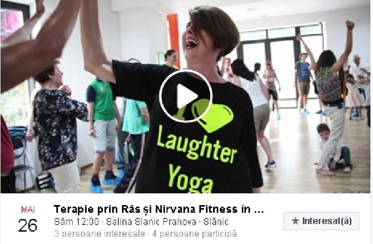 Terapie prin Râs şi Nirvana Fitness în Salina Slănic Prahova