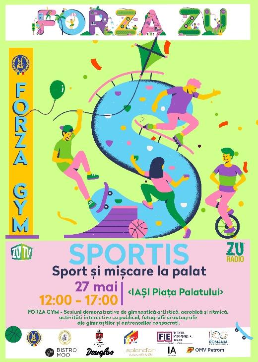 Federaţia Română de Gimnastică vă invită la Forza GYM, primul eveniment dedicat gimnasticii pentru toţi