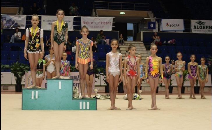 """Gimnastele de la CSM Ploiesti au castigat 6 medalii la Cupa """"Irina Deleanu"""""""