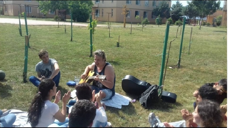EXCLUSIV . Dan Helciug a fost in vizita la Scoala de meserii Concordia Romania ( Ploiesti )
