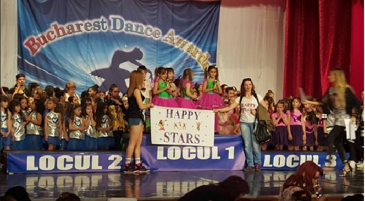 Premii importante pentru Happy Dance si Studio Elite Dance ,la Bucharest Dance Awards