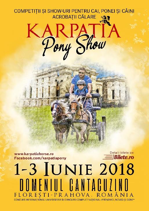 Ambitia MMA Madalin va participa la Karpatia Pony Show 2018