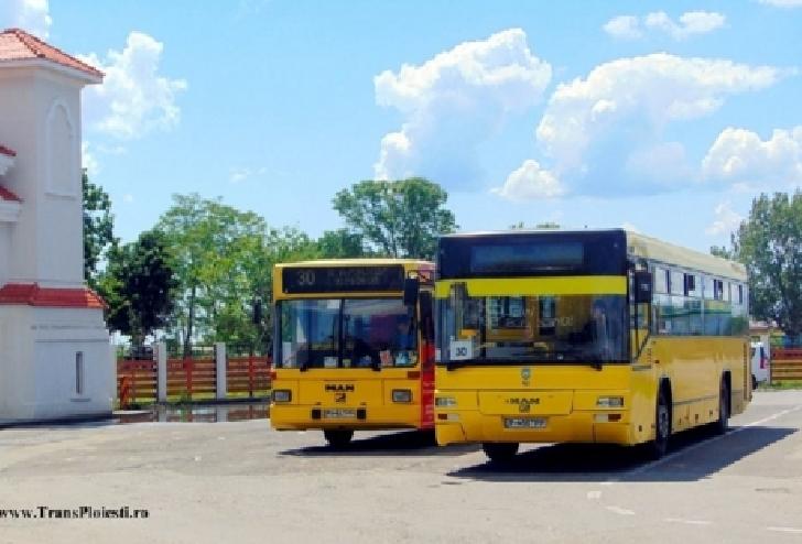 Anunt TCE Ploiesti . Rute autobuze in perioada 1-3 iunie 2018