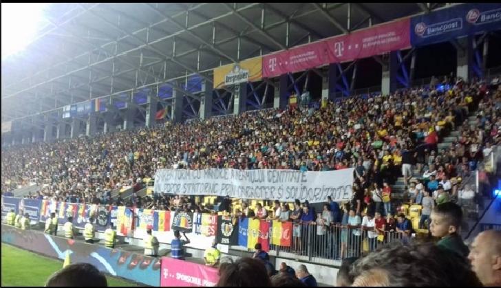 Romania a invins Finlanda ,la Ploiesti. Bogdan Lobont s-a retras de la echipa nationala in lacrimi si aplauze