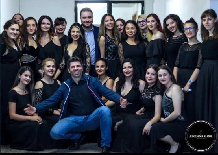 Corul de cameră Ascendis condus de Eduard Dinu a susţinut în data de 28  iunie 2018 un concert extraordinar la Ploieşti