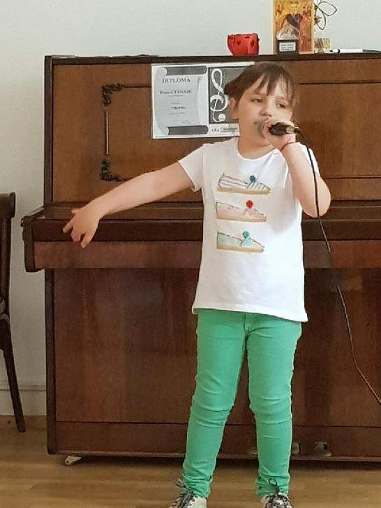 Ilinca Maria Alexandrescu,la doar 6 ani este ca un star