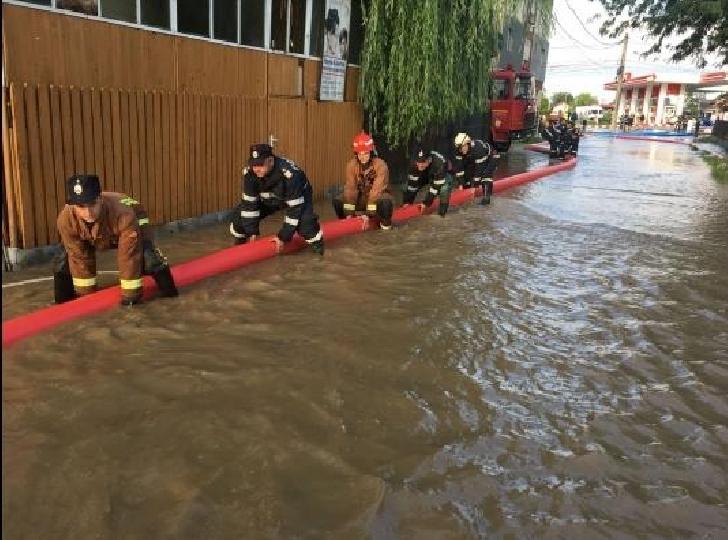 Bilant ISU Prahova dupa ploile din ultimele 24 ore