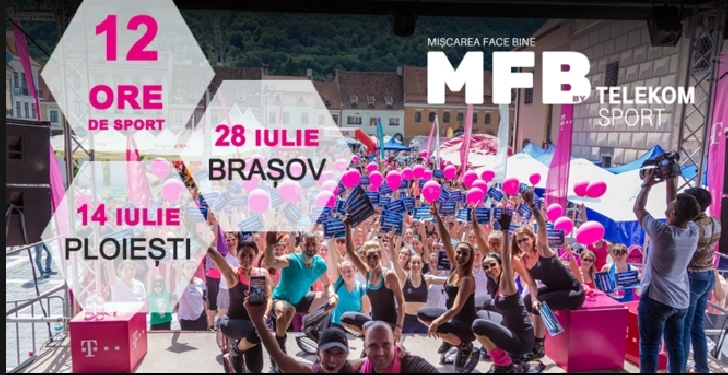Fitness Club Nico deschide CEA MAI MARE ORA DE SPORT din România. MFB (ediţia a 8 a)- Ploiesti
