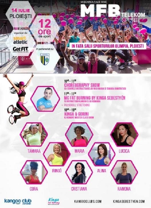 Kinga Sebestyen , invitata speciala  la 8 ANI de Mişcarea Face Bine-Ploiesti 2018