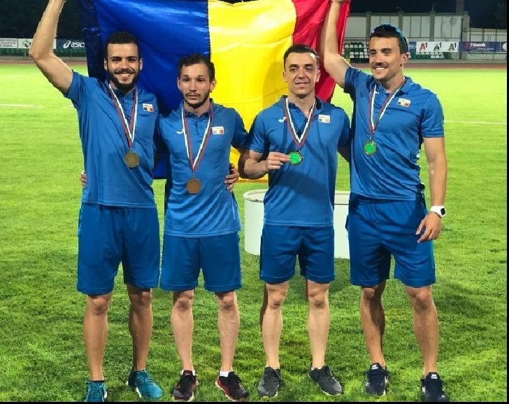 Atleţii de la CSM Ploieşti, aur şi argint la Campionatul Balcanic de la Stara Zagora